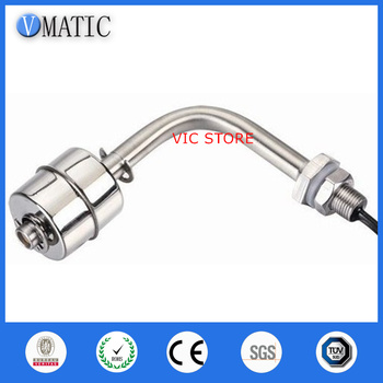 Free Shipping VC1078-SL 90 Degree Side Float Switch Sus316 Probe Automatic Controller Stainless Steel Liquid Water Level Sensor