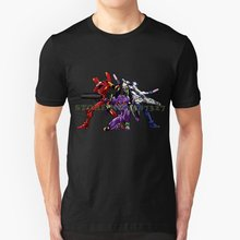 Evangelion : 8bit Genesis Tshirt T Shirts For Men Women(China)