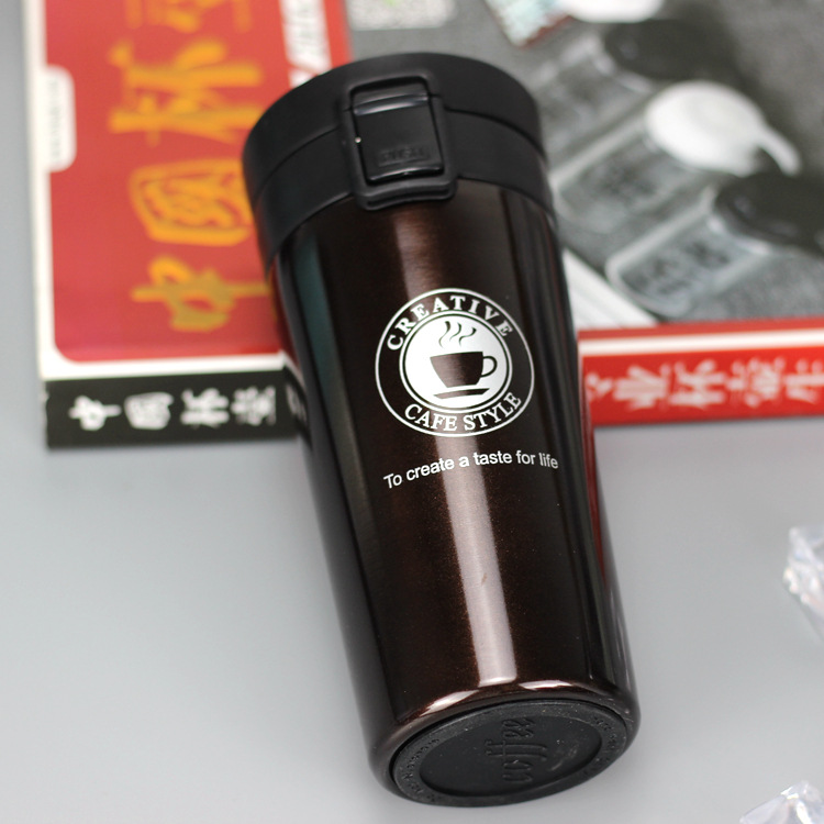 H01791957b712414cb0c65c601ef0d583P HOT Premium Travel Coffee Mug Stainless Steel Thermos Tumbler Cups Vacuum Flask thermo Water Bottle Tea Mug Thermocup