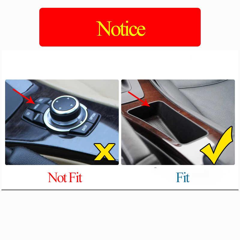 ABS Carbon Fiber Center Console Gear Shift Frame Car Accessories for BMW E90 E92 2005-2012 3 Series Left Hand Drive