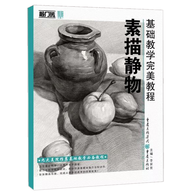 Basic Teaching Perfect Course Sketch Still Life Joint Examination School Examination Art Self-study Book