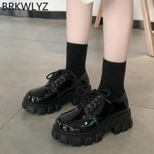 Chunky Sneakers Shoes Increasing Height Hidden-Heels High-Top Platform Women M1093 Ladies
