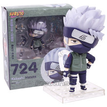 Naruto hatake kakashi 724 pvc figura de ação collectible modelo brinquedo boneca