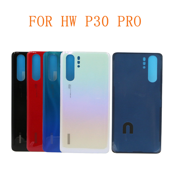 10PCS Free Shipping Back Housing P30 Pro P30 Glass Battery Back Cover Back With glue For Huawei P30 P30 PRO Back Battery Cover фото