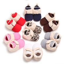 Hot Fashion Newborn First Walker Winter Baby Shoes Girls Boys Warm Snow Boots Toddler Prewalker Infant Crib Shoes Kid Sneakers fashion baby shoes newborn girls boys warm rainbow snow boots toddler first walkers infant sweet soft sole prewalker crib shoes