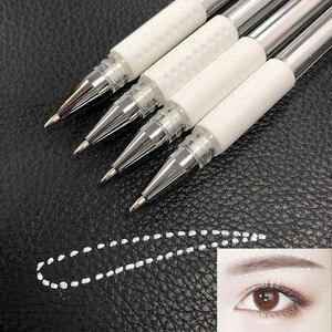 Image 4 - Stylo marqueur à sourcils, accessoires de tatouage, peau chirurgicale, accessoire de maquillage Permanent, 10 pièces, le plus récent