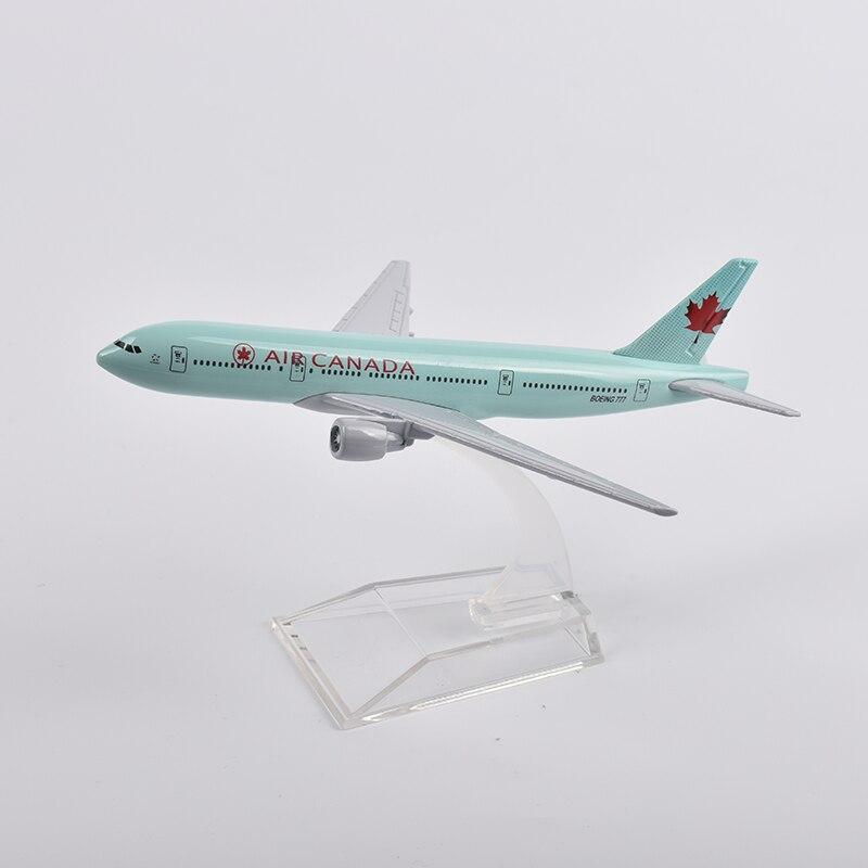 escala avião modelo presente coleção