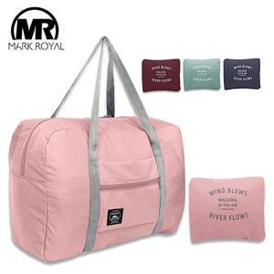 MARKROYAL Travel-Bag Tote-Duffel-Set Hand-Luggage Overnight Folding Nylon Large-Capacity