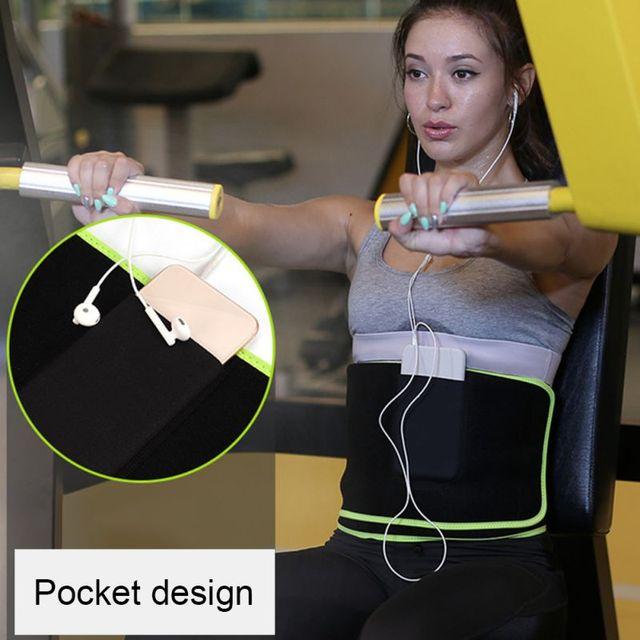 Fitness Running Waist Belt Shaper Warm Yoga Belt Breathable Sweat Protection Home Supplies 3