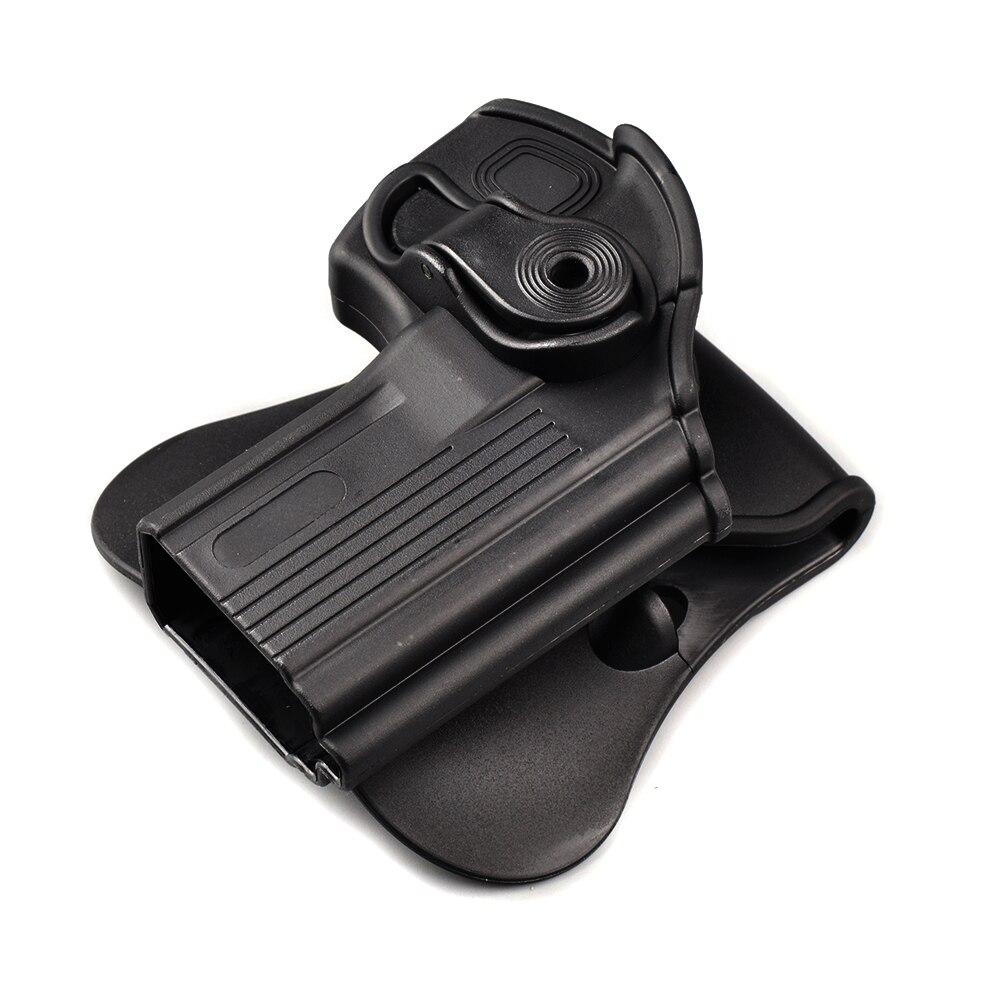Pistol Holster Rotates 360 Degrees Right Hand Belt Loop Paddle Platform For Taurus 24/7 24/7-OSS Paddle