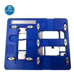 Mj K25 Mj K27 Voor Iphone Reparatie Motherboad Fxiture Voor Iphone 11/11pro/11Pro Max Moederbord Solderen Jig armatuur Pcb Houder-in Elektrisch gereedschap sets van Gereedschap op