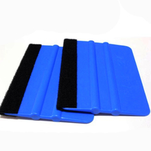 1PC Vinyl Wrap Car Film Install Squeegee Carbon Fiber Wrapping Tool Auto Foil Window Tint Scraper Household Car Cleaning Tool