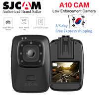 ¡Nuevo! SJCAM A10 portátil Cámara corporal Cam cámara portátil cámara de seguridad de infrarrojos IR-Cut de la noche visión láser de posicionamiento Cámara de Acción