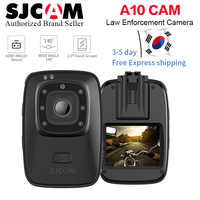 New !SJCAM A10 Wearable Bodycam Cam Portable Camera Infrared Security Camera IR-Cut Night Vision Laser Positioning Action Camera