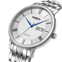 Luxus Marke ROSDN herren Uhren Japan MIYOTA Automatische Mechanische Bewegung Uhr Mann Saphir Wasserdicht Paare Uhren R2622M