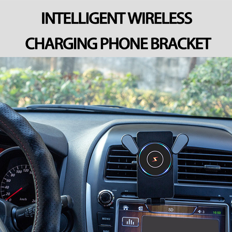 For Lexus Honda Civic Opel astra h j <font><b>Mazda</b></font> 3 <font><b>6</b></font> Kia Rio Ceed Volvo Car <font><b>Phone</b></font> <font><b>Holder</b></font> Wireless Charging Air Clip image