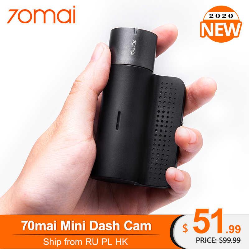 Ban Đầu 70mai Mini Dash Cam Xe Thông Minh Đầu Ghi Hình Camera Wifi 1600P HD Ban Đêm 140FOV Camera Ghi Hình ứng Dụng Điều Khiển