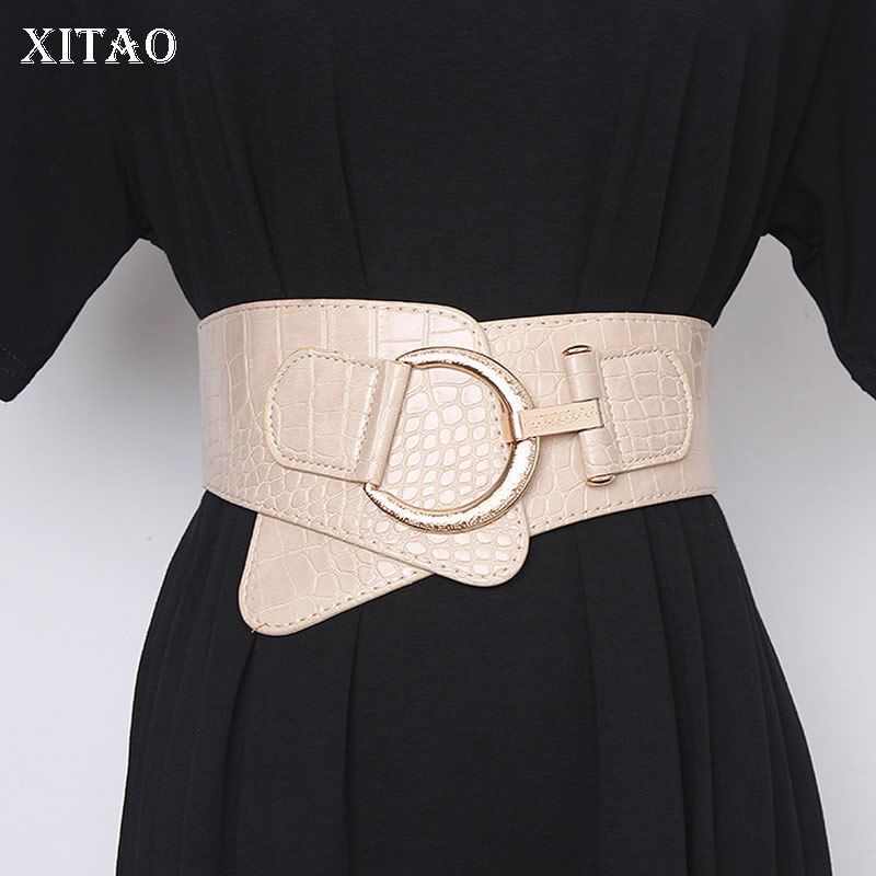 XITAO Elastic Stretch Fashion Wild Cummerbunds Fashion New 2019 Winter Autumn Elegant Small Fresh Minority Cummerbunds XJ2880