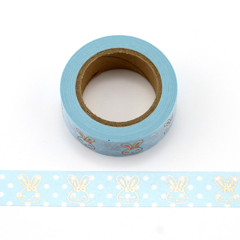 Купить с кэшбэком 1X Foil Washi Tape 15mm*10m colorful Scrapbooking Tools Cute Adhesiva Decorativa Japanese Stationery Washi Tapes