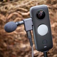 Microphone Adapter Audio Type-C Charging External Converters Lightweight Portable Music