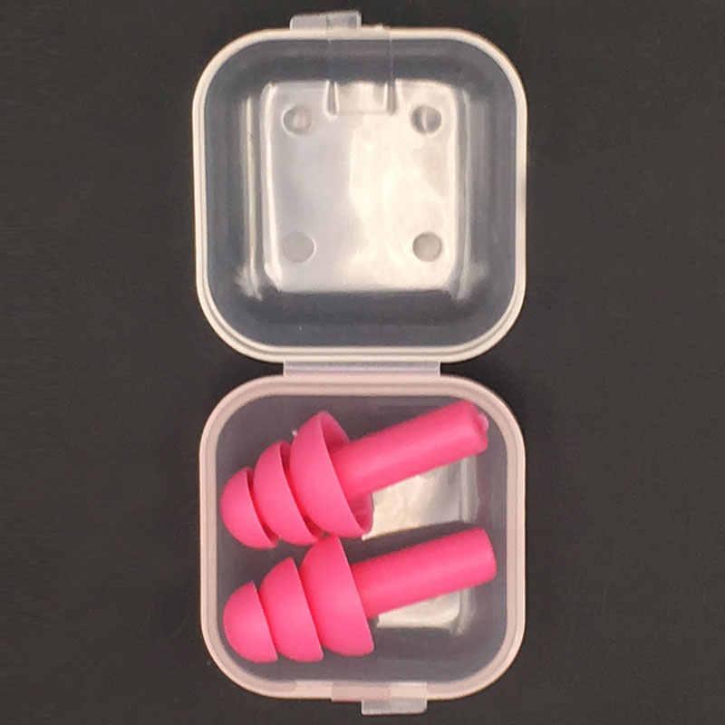 ソフトシリコーン耳栓遮音耳保護耳栓アンチノイズいびき睡眠プラグ旅行ノイズリダクション