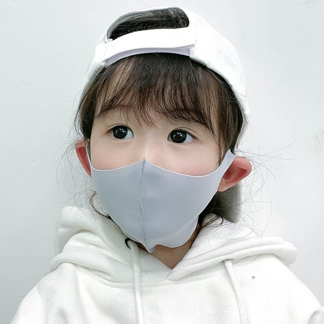 10pcs Three-dimensional thick protective mask breathable children's mask mouth mask anti dust proof flu face masks for child 3