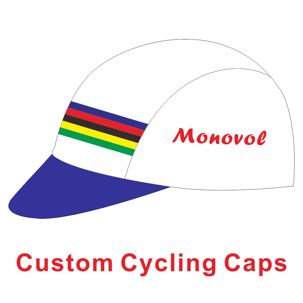 Custom Cycling Cap Customize Bicycle Hat  Cycling Hat  Skull Caps 100%  Polyester Bike Headband Cycling Head Wear Free Design