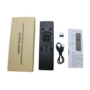 Image 5 - T6 2.4G mouche souris mini sans fil airmouse clavier avec pavé tactile 3 gyroscope 3 Gsensor IR apprentissage télécommande