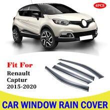 4 шт для renault captur 2015 2020 окна автомобиля солнцезащитный