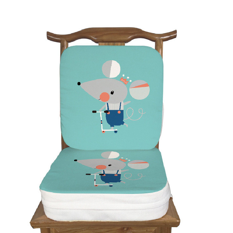 Kids Increased Chair Pad Children Dining Chair Adjustable Removable Highchair Chair Booster Cushion Seat Chair For Baby Care