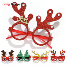 10 шт Рождественская елка олень декоративная оправа для очков