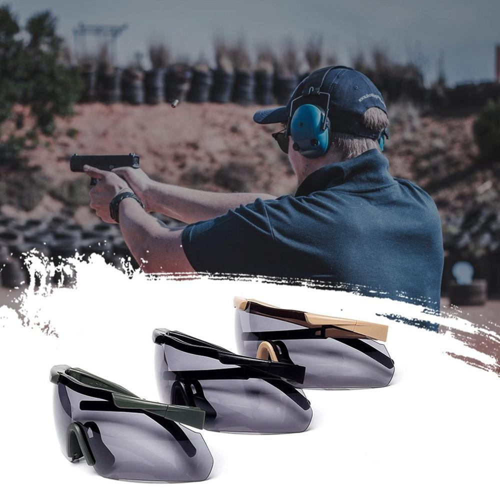 Cs Tactical Glasses Shooting Bulletproof Glasses Military Fans Windproof Sand Goggles Mountaineering Goggles|Motorcycle Glasses| |  - title=