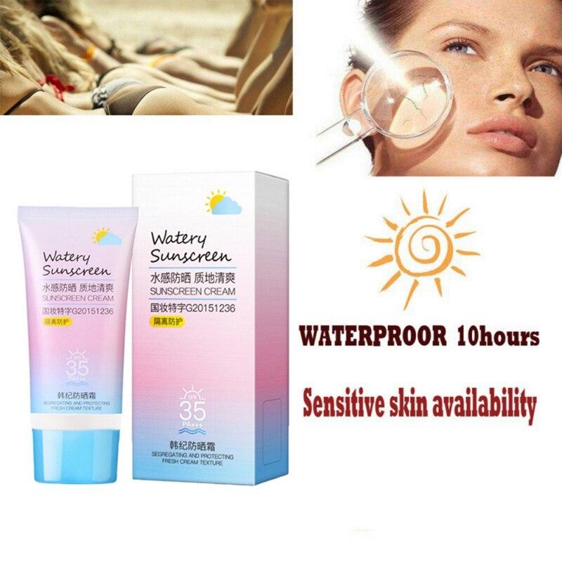 SPF 90 Facial Sunscreen Cream Day Cream Oil Free Radical Scavenger Anti Oxidant UVA/UVB Britening Cream 50g