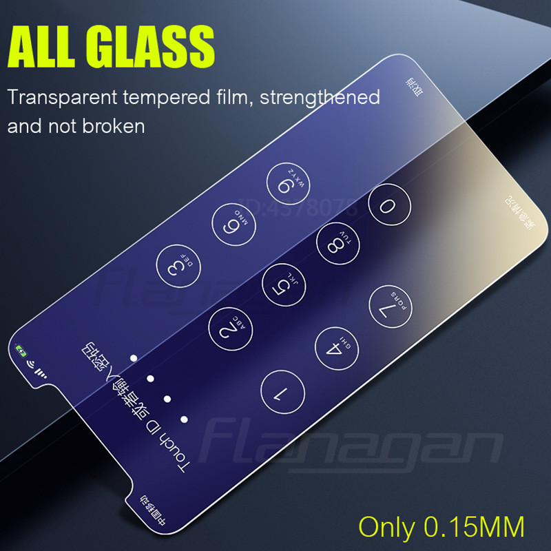 Image 2 - Flanagan 3Pcs HD Tempered Glass For iPhone X XR XS MAX Screen Protector Film For iPhone 11 Pro Max XR 11 Pro Protection Glass-in Phone Screen Protectors from Cellphones & Telecommunications