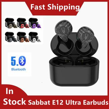 Sabbat E12 Ultra TWS BT 5 0 Aptx słuchawka hi-fi słuchawki Stereo redukcja szumów IPX5 słuchawki sportowe наушнки беспроводние tanie i dobre opinie douszne NONE Dynamiczny CN (pochodzenie) wireless 1205dB bluetooth Słuchawki do monitora Do gier wideo Zwykłe słuchawki