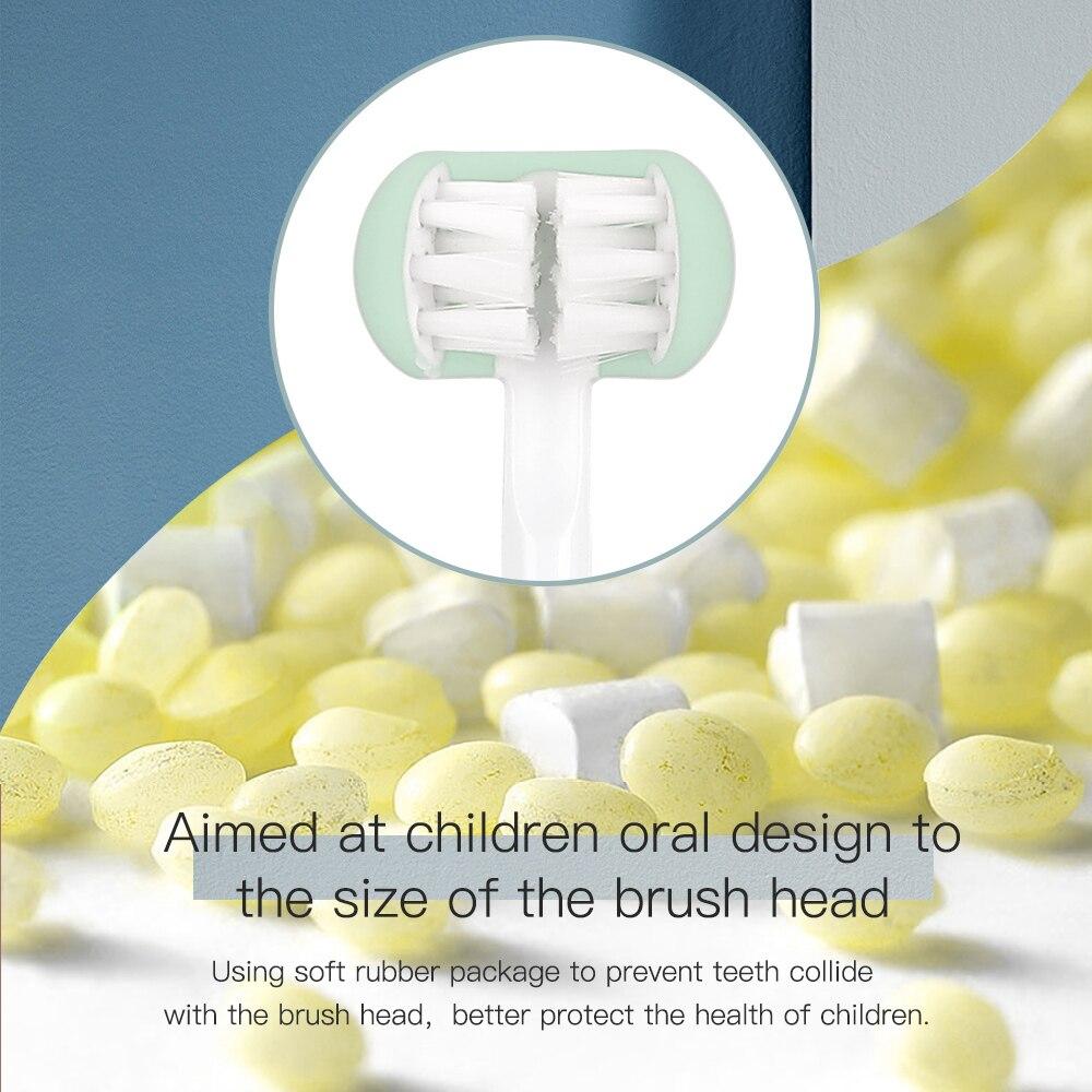 de dentes elétrica 5 modos escova de
