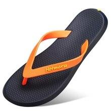 New Men Flip Flops Beach Flat Sandals Designer Slippers Summer Shoes Fashion Slides Rubber Clogs Zapatos Hombre