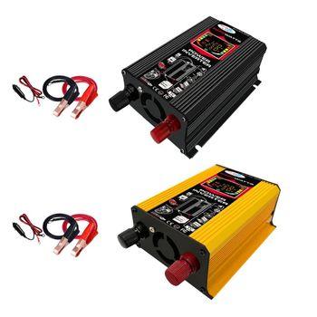 Car Inverter DC12V to AC 110V/220V 4000W Pure Sine Wave Voltage Transformer