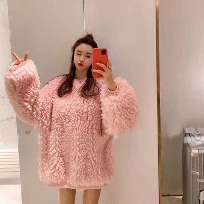 2019 New Style High-end Fashion Women Faux Fur Coat C26