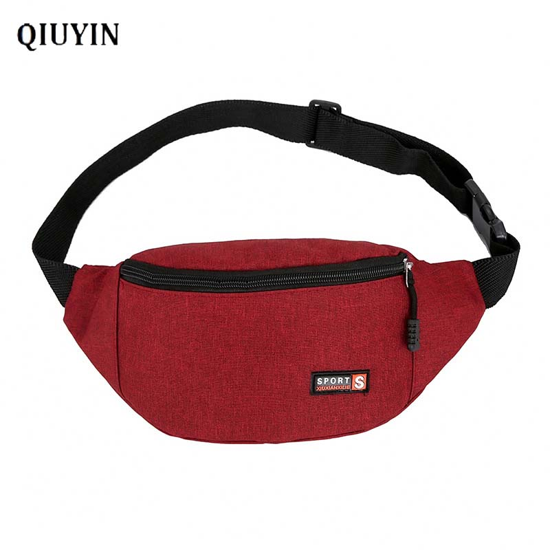 Qiuyin Luxury Brand Purse Mini Pack Female Bags 2020 Belt/Chest/Crossbody/Hip/waist Bag Fanny Pack Bum Pack Leather Canvas Pack