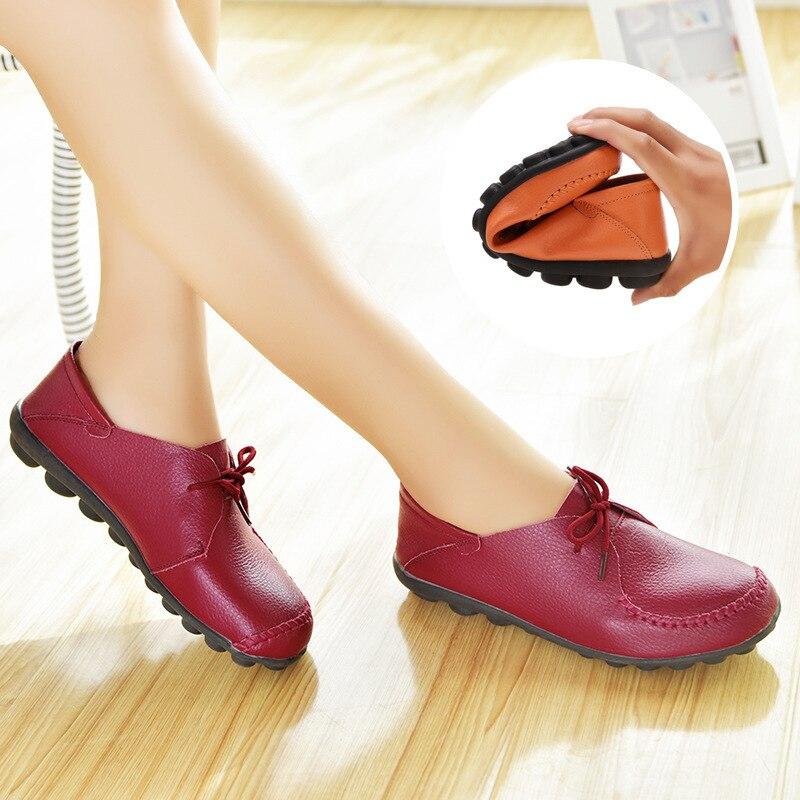 Повседневные лоферы; женская обувь из натуральной кожи на плоской подошве; Женская Весенняя обувь; удобная женская обувь для отдыха на плос...