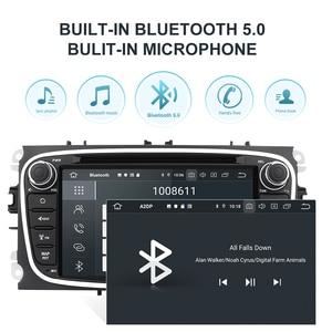 Image 4 - Isudar PX6 2 Din Android 10 Auto Radio Für FORD/Focus/S MAX/Mondeo/C MAX/Galaxy auto Multimedia Player Video GPS USB DVR Kamera FM