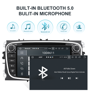 Image 4 - Isudar PX6 2 Din Android 10 Car Radio For FORD/Focus/S MAX/Mondeo/C MAX/Galaxy Car Multimedia Player Video GPS USB DVR Camera FM
