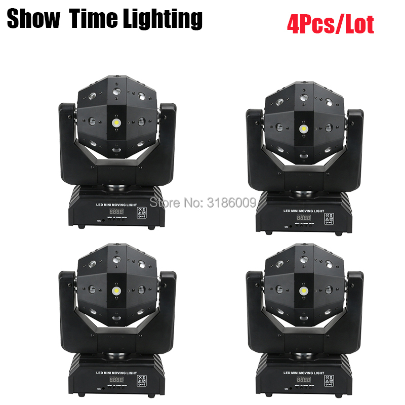 Unlimited Rotate Football Dj Laser Disco Led Strobe 3 IN 1 Moving Head Light Good Effect Use For Party KTV Night Club Bar