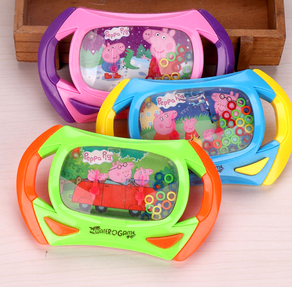 Cultivate Kid Thinking Ability Toys Peppa Pig Water Ring Toss Child Handheld Game Machine Parent Child Interactive Game Toys Action & Toy Figures    - AliExpress