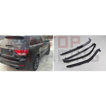 Wheel Fender Wheel Eyebrow Arch Extensions For Jeep Grand Cherokee 2011 2012 2013 2014 2015 2016 abs plating body door side molding trim set for jeep grand cherokee 2011 2012 2013 2014 [qpa166]