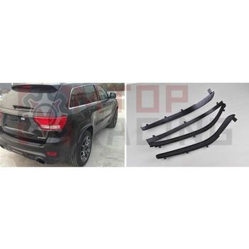 цена на Wheel Fender Wheel Eyebrow Arch Extensions For Jeep Grand Cherokee 2011 2012 2013 2014 2015 2016
