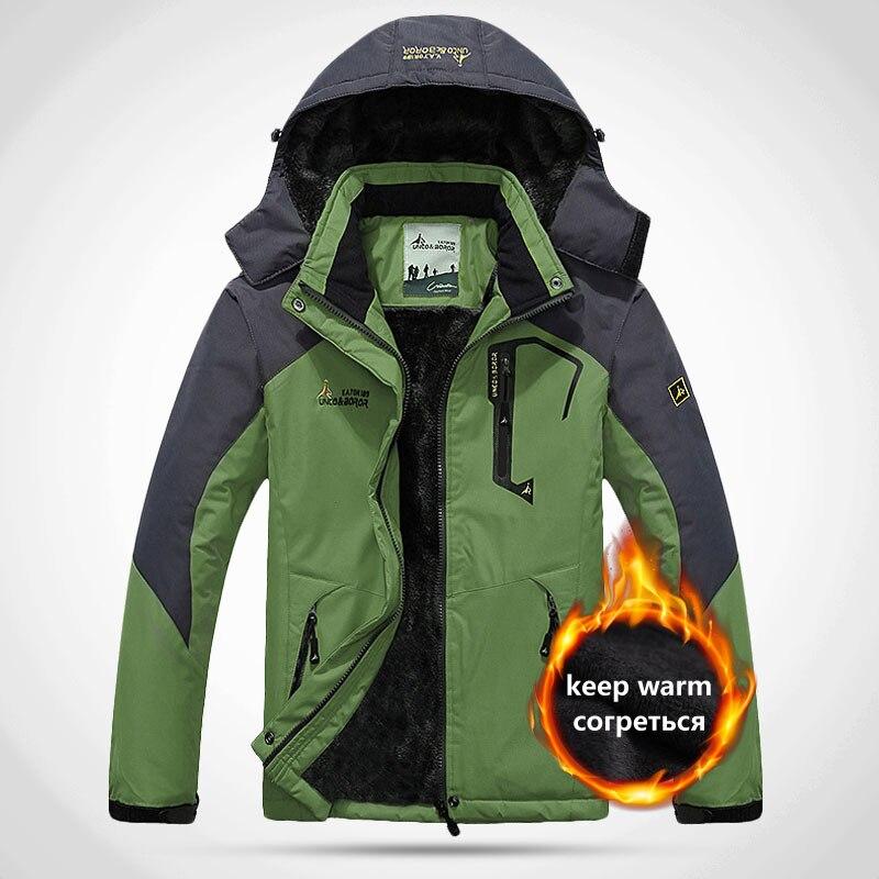 2019 Softshell Waterproof Thermal Winter Jacket Suit For Fishing Skiing  Outdoor Camping Women Man Jacket 5XL зимняя куртк