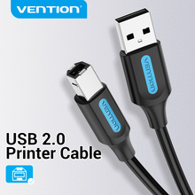 Vention USB Printer Cable USB 2.0 Type A Male To B Male Sync Data Scanner Printer Cable for ZJiang HP Canon Epson USB Printer