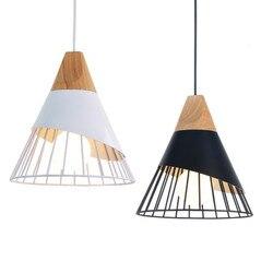 Nowoczesne lampy sufitowe lampy do jadalni salon restauracja luminaria de teto e27 vintage lampy sufitowe oprawy oświetleniowe do domu